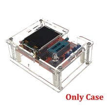 Acrylic Transparent Case Shell for TFT GM328 Transistor Tester Diode LCR ESR Meter PWM Square Wave DIY Kit Only Case