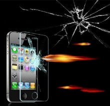 HD Tempered Glass Screen Protector High Quality 0 3mm Ultra Thin phone Film For Apple iPhone4