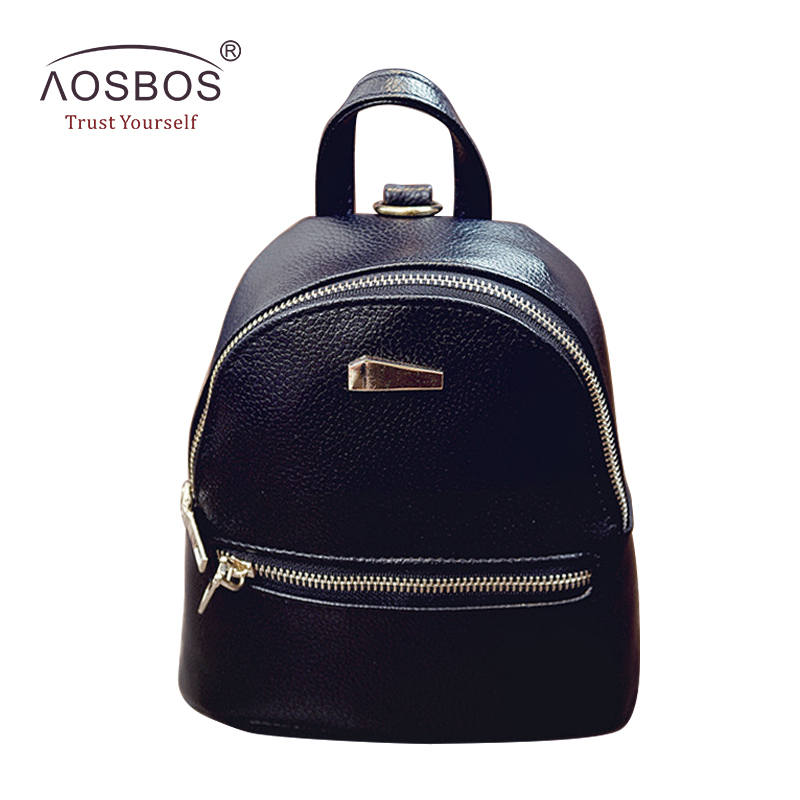 New Women PU Leather Backpacks High Quality Candy Color Zipper Mini Backpack for Teenage Girls Casual Solid Shoulder Bags fashionable high waist solid color zipper fly denim skirt for women