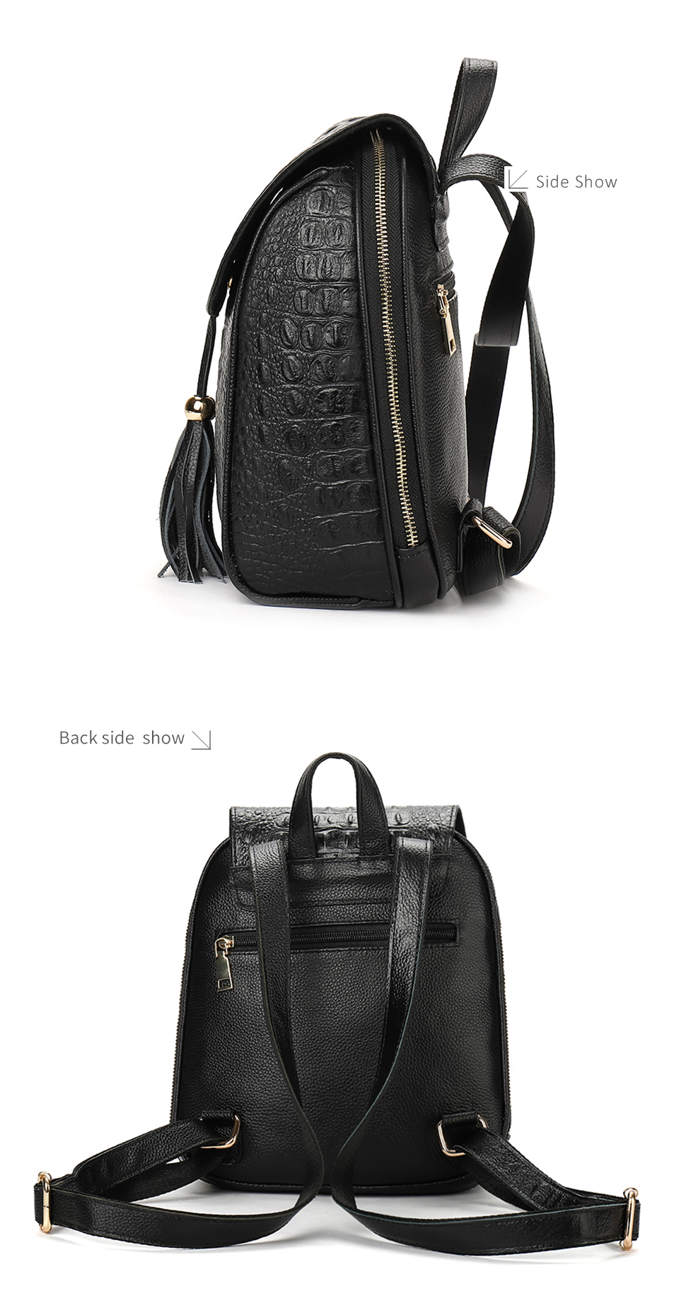 81b386ee6b55 Fashion Casual Odile Texture Women Backpack High Quality Comfortable ...