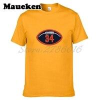 Hommes T-shirt Walter Payton #34 T-shirts À Manches Courtes T SHIRT Hommes de W1017018