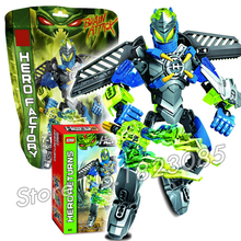 64pcs Bela New Hero Factory Brain Attack Surge Model Building Bricks Robot Action Toys Compatible With Lego