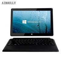 AIBOULLY 10,1 дюймовый планшет с двумя операционными системами ПК Win 10 планшет четырехъядерный Cherry Trail X5-Z8350 Windows 10 и Android 5,1 64 ГБ Rom Wifi HDMI 10