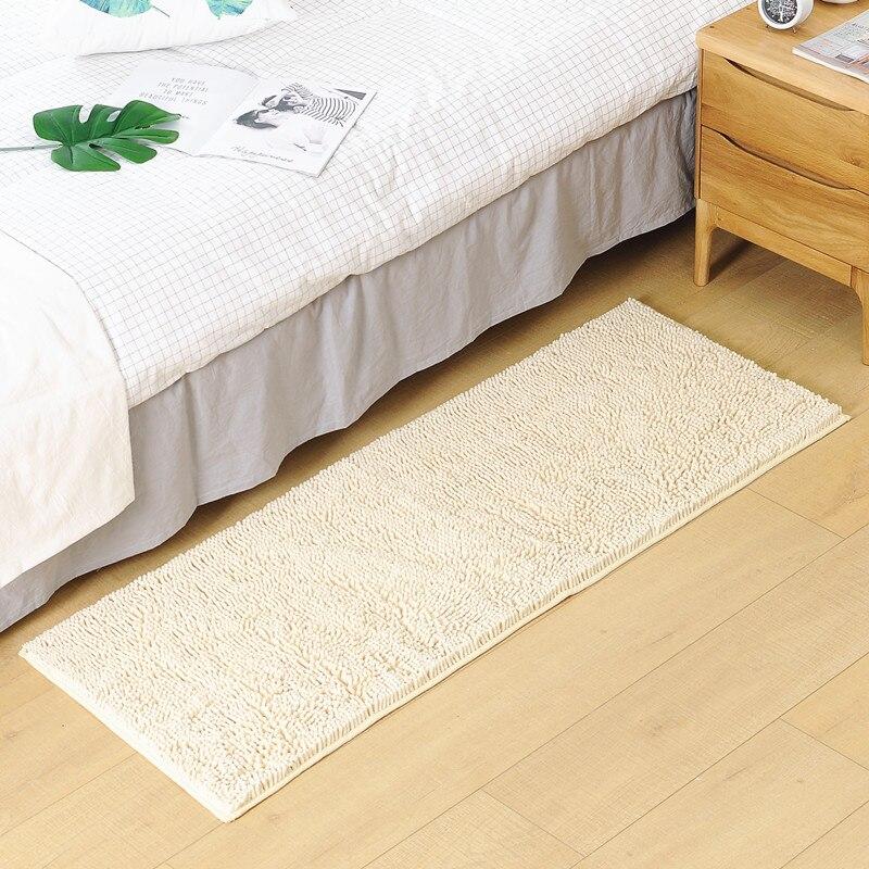 50*120cm Bathroom Carpet Anti slip Bath Mat Soft Bedroom Living Room Floor Pad Rug Doormat Home Decor Feet Mat Plush Carpet