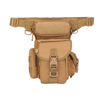 Men Waterproof Oxford Military Drop Fanny Pack Motorcycle leg bag moto  tactical accessories