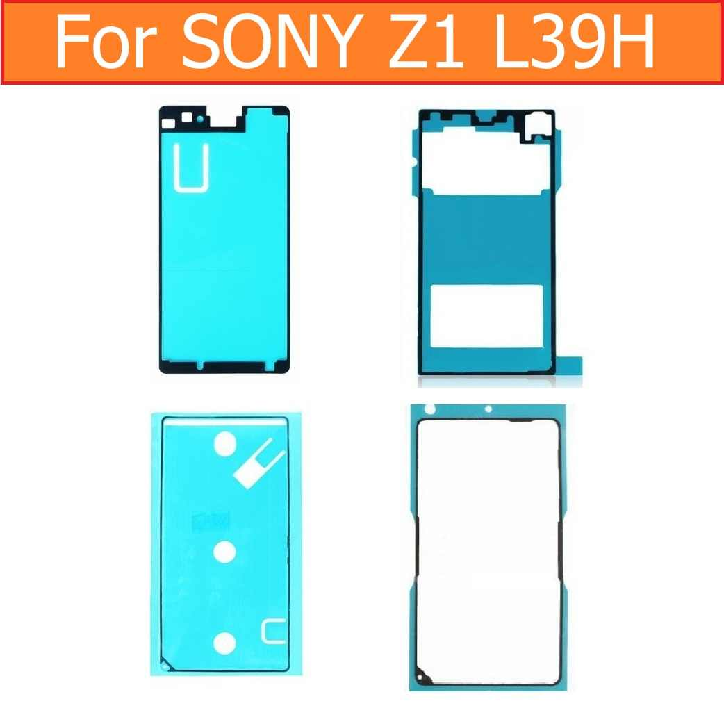 Original Display Adhesive Tape for Sony xperia Z1 L39H C6902 C6903 C6905 C6906 rear glass housing Waterproof glue for SONY L39h