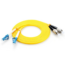 Optical fiber jumper telecommunication grade FC-LC network cable single-mode single-core 1.5m 3.5m high-speed information transm