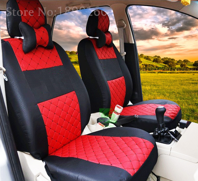 only two front silk car seat cover For Hyundai Jeep Subaru LIfan Mitsubishi Nissan Jac automobile armchair accessories styling