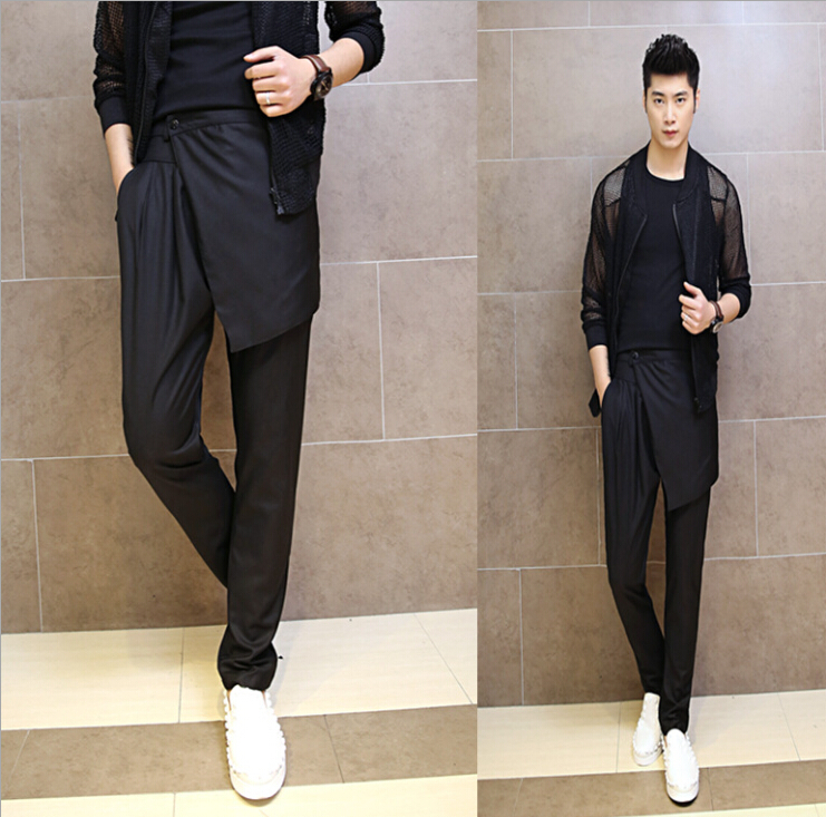 2015 Summer Style Korean Men 39 S Fashion Personality Harem