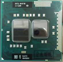 Intel Core i5-560M Тетрадь процессор компьютера i5 560 м ноутбука Процессор PGA988 Тетрадь компьютер Процессор