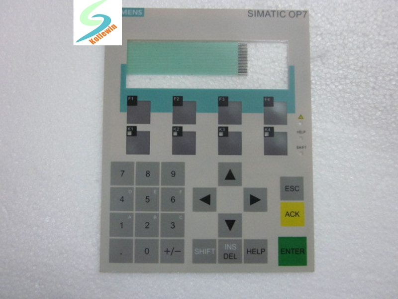 1pc 6AV3607-1JC20-0AX2 Keypad Membrane, NEW Simatic OP7 Membrane Keypad for 6AV36071JC200AX2 , 6AV3 607-1JC20-0AX2 membrane switch for 6av3 637 1ml00 0fx0 slemens op37 membrane switch simatic hmi keypad in stock