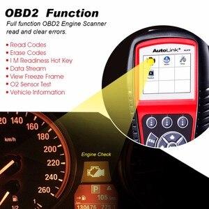 Image 3 - Autel الرابط الآلي AL619 OBD2 الماسح الضوئي سيارة التشخيص أداة المحرك ، ABS ، SRS السيارات سيارة قانون القارئ OBD 2 السيارات تشخيص أداة