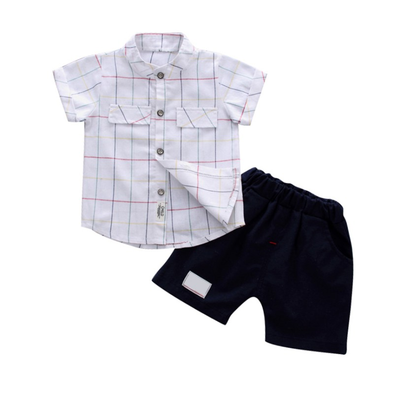 2018 Summer Baby Boy Clothing Sets Short Sleeve Sport Suit Children Clothing Boys Set Cotton Outfit Suit Costume For Kids Clothe i k boy vest suit breathable sport suit for boys 2017 summer new arrived children clothing two piece set comfortable suits a1082