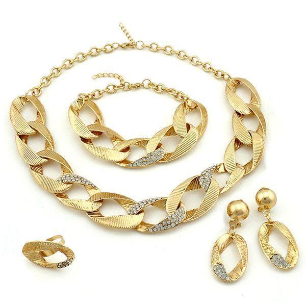 2014 big african jewelry sets Pakistani bridal dubai gold jewelry