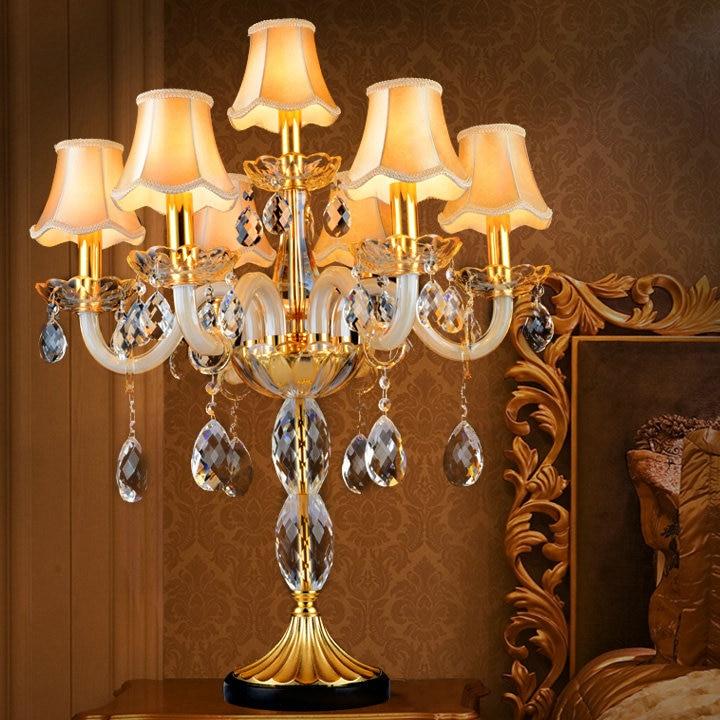 Luxury Candelabra Dining Room Table Lamp Led Interior