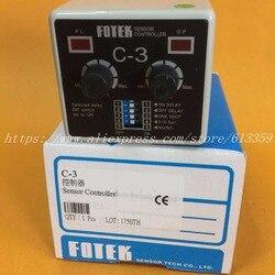 C-3 FOTEK de controlador de Sensor, 100% nuevo y Original