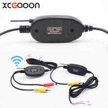 XCGaoon 2 4G Wireless Transmitter sender Receiver Module adapter for Car Reverse Rear View Camera Monitor