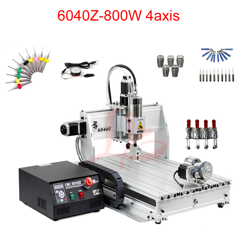 800W CNC Milling machine 600*400mm working area cnc engraving machine with VFD water-cooling spindle800W CNC Milling machine 600*400mm working area cnc engraving machine with VFD water-cooling spindle