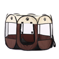 Portable Foldable Puppy Dog Pet Cat Rabbit Fabric Playpen Crate Cage Kennel Tent Pet Supplies HG99