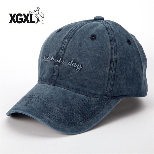 c934845a XGXL Fashion Bad Hair Day Adjustable Caps New Women Baseball Cap Men  Casquette Snapback Caps Hats For Men Brand Bone Vintage