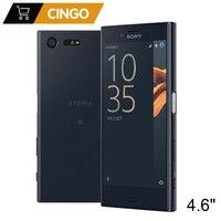 Оригинальный sony Xperia X Compact 3 ГБ ОЗУ 32 Гб ПЗУ одна SIM 5,2 дюймов Android Восьмиядерный 23MP камера разблокированный мобильный телефон