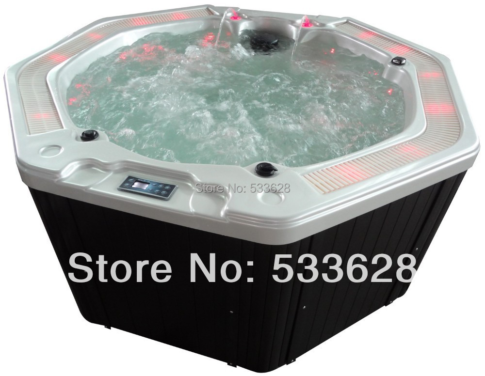 1807 Hydro massage hot tub spa whirlpool bathtub with grille-in ...