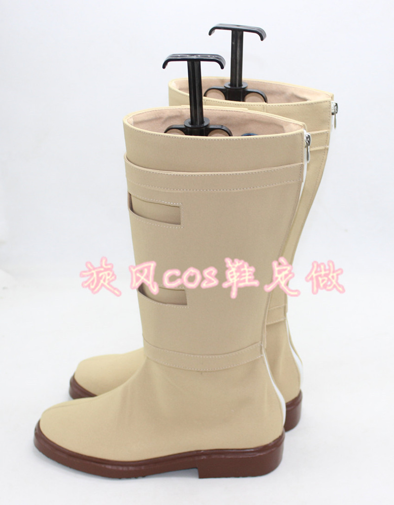 Padme Queen Amidala Boots Star Wars Tan Beige Cosplay Costume Shoes