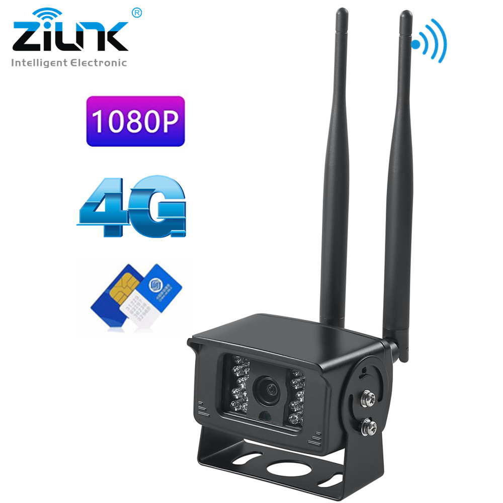 3G 4G Camera SIM Card 1080P HD Wireless Wifi Outdoor Waterproof Mini CCTV Security SD Card Video Record Camera Support P2P CAMHI
