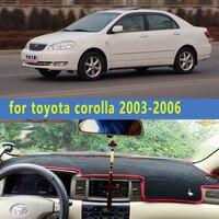 Dashmats auto-styling zubehör armaturenbrett abdeckung für toyota corolla 2003 2004 2005 2006