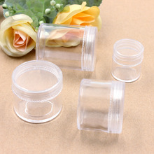 2Pcs High quality Storage Bottles & Jars Travel Vacations pills Jewelry Electronic materials and accessories Box