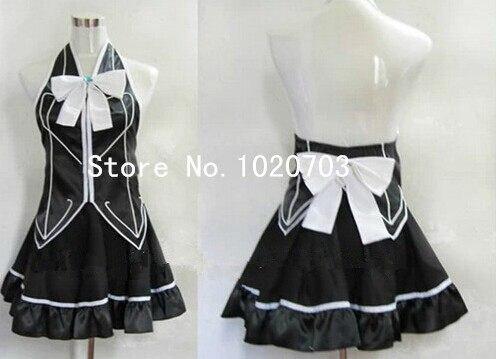 Fairy Tail Lucy Heartfilia Dress Cosplay Costume Black manga version Anysize