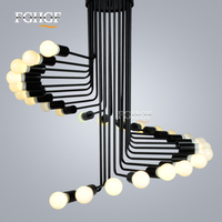 Modern Chandelier Light lampada Hanging Lamp E27 LED Lamp Chandeliers Suspension Lustres fixtures for bedroom dining room