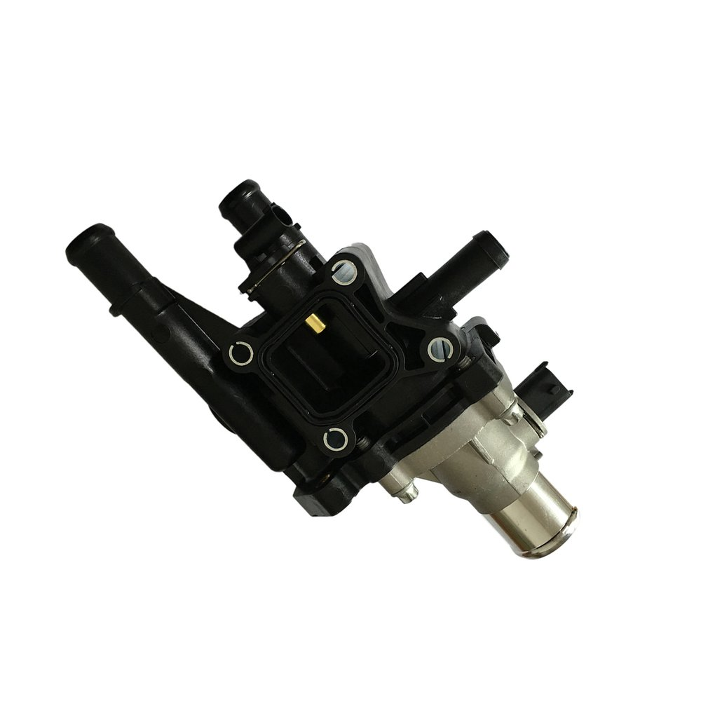 For Chevrolet OEM 12 18 Sonic Engine Coolant Thermostat Housing Device With Sensor Explorer 25192228 Auto Tool