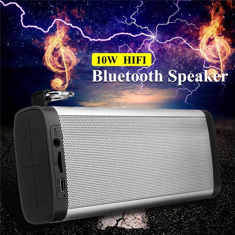 Portable Mini Bluetooth Speaker Bass 2.1 Channel Outdoor Stereo Loudspeaker Wireless Speaker Soundbar for iPhone Xiaomi karnotech® mini portable bluetooth hi fi super bass speaker white for iphone ipod ipad samsung galaxy