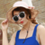 2015 novos chapéus de praia para as mulheres de alta qualidade chapéu de sol Casual floppy verão panamá cap moda sombrero