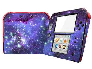 Image 5 - Natural Amazing Star Sky Vinyl Skin Sticker Protector for Nintend 2DS Stickers Decals