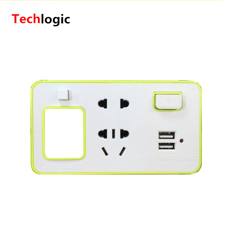 Universal USB Charger Socket with LED Light Multi Function font b Laptop b font USB Charger