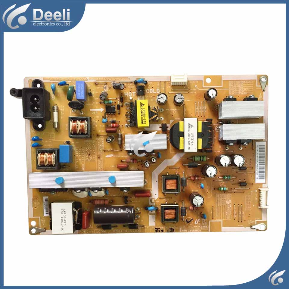 95% new power Board UA60EH6000R BN44-00500A PD60AV1-CSM 60 inch used board good working used for board power board la46c530f1r la46c350f1r bn44 00341a i46f1 asm tested working