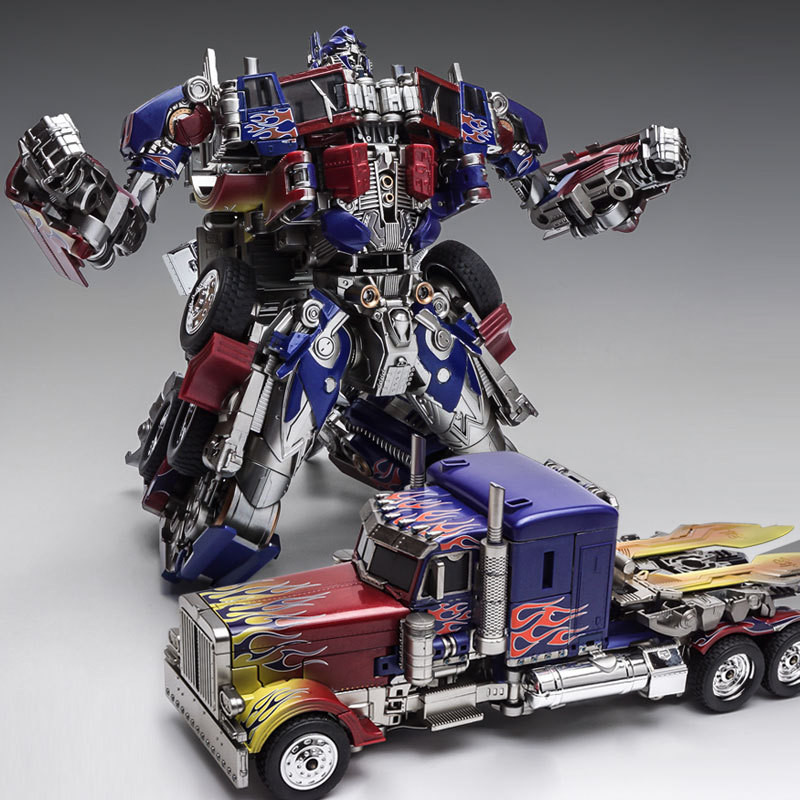 WEIJIANG New Oversize SS05 MPP10 Transformation Toy Cool Anime ABS Alloy Action Figure Robot Car Model