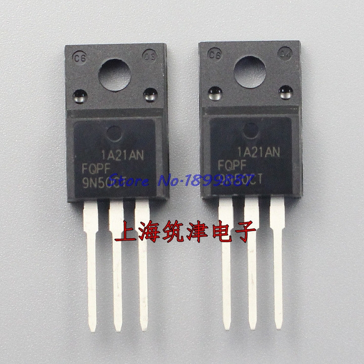 10pcs/lot FQPF9N50C TO-220 9N50C 9N50 TO220 New MOS FET Transistor In Stock
