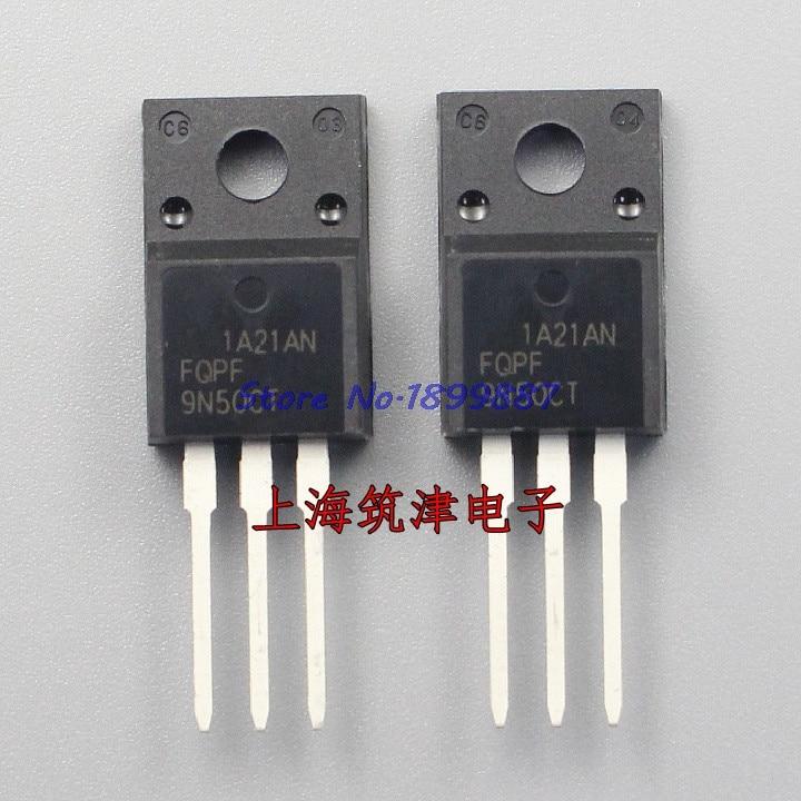 10pcs/lot FQPF9N50C TO-220 9N50C 9N50 TO220 New MOS FET Transistor In Stock