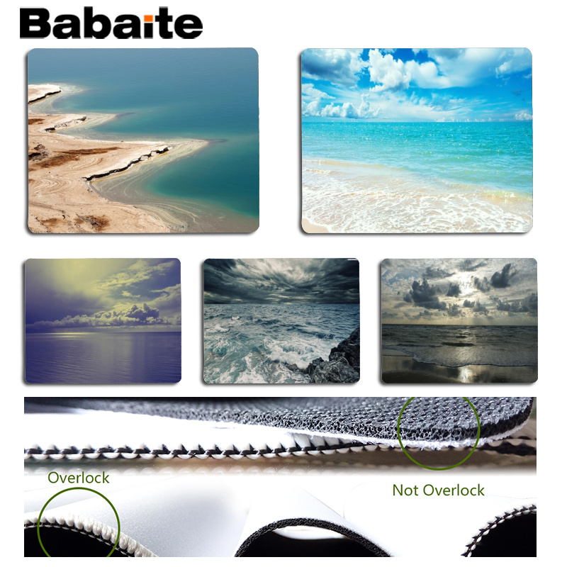 Babaite New Designs Sea Large Mouse pad PC Computer mat Size for 180x220x2mm and 250x290x2mm Small Mousepad