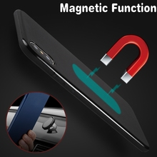 Magnetic Car Holder Case for Huawei P20Lite/Huawei Nova 3e Soft TPU Silicone Magnet Case for Huawei P20 Pro Bulit-in Metal Plate