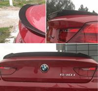 Carbon Fiber CAR REAR WING TRUNK LIP SPOILER FOR BMW 6 Series F12 F13 640i 650d F06 Coupe 2 Door 2012 2013 2014 2015 2016 2017