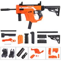 WORKER Modified Dagger Cover Shaped Toy Accessories kit Orange