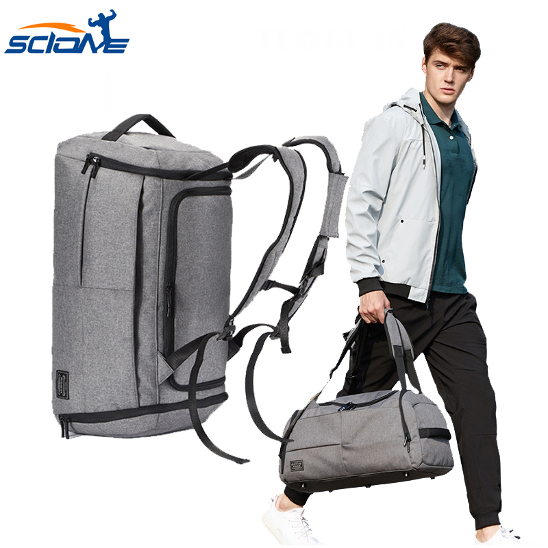 Sacs de voyage Anti-vol sac masculin Portable sacs de voyage pour homme grande capacité épaule en plein air Camping sac à dos sac de Sport