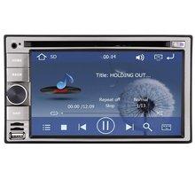 6.2 inch Car DVD CD player 2 din GPS car stereo AM FM RADIO RDS navigation bluetooth USD sd+4gb gps map card