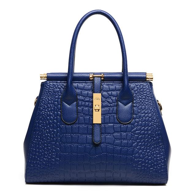 New 2017 Fashion Woman's Shoulder Bag PU Leather Solid Color Luxury Girl Handbags Casual Elegant Women Handbags Bag