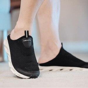 Image 3 - Youpin zaofeng נעלי ספורט קל משקל לאוורר אלסטי סריגה לנשימה מרענן קריק החלקה ספורט לגבר אישה