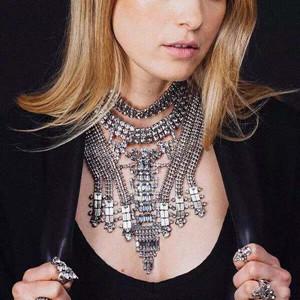 Ancient Crystal Statement Necklaces Unique style